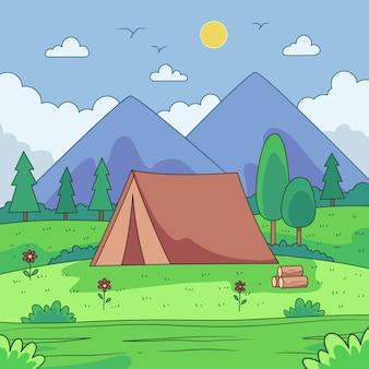 キャンプ場景観コンセプト