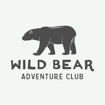 Camping outdoor and adventure logo