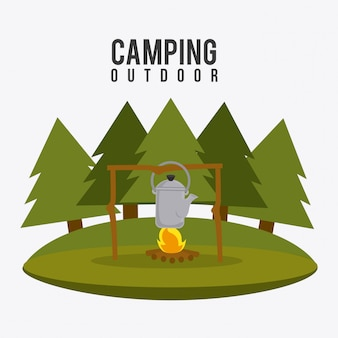 Camping travel and vacations.