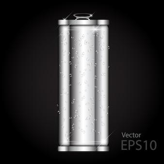 Can aluminium slim blank realistic