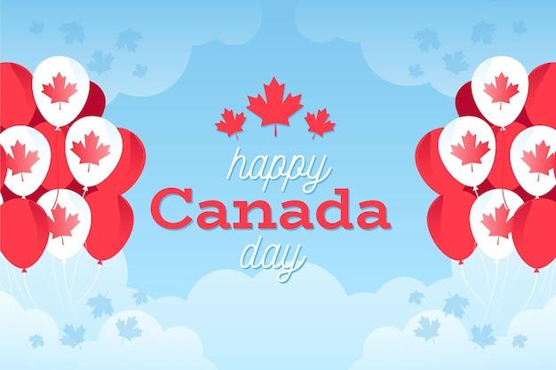 カナダの日の背景