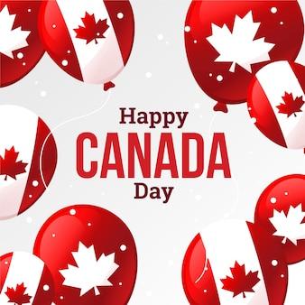 Празднование дня канады