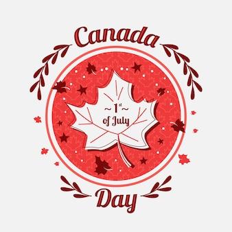Canada day illustration