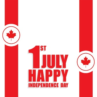 Canada independence day happy independence day background