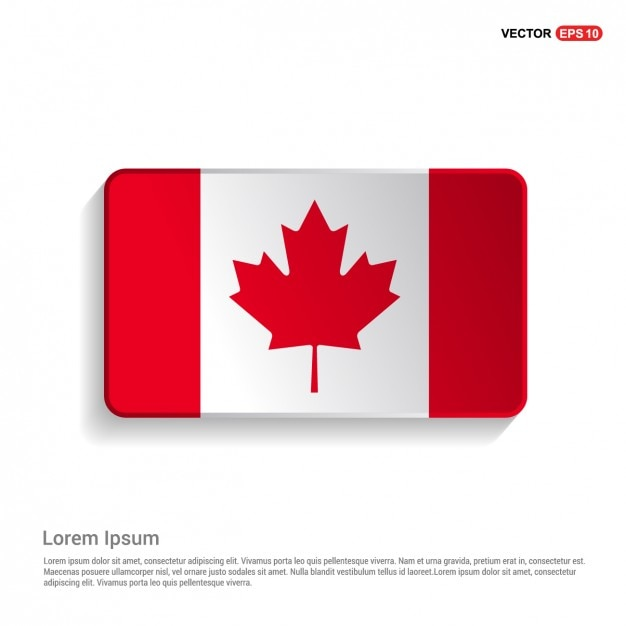 canadian flag vectors photos and psd files free download rh freepik com canada flag vector eps canadian flag vector