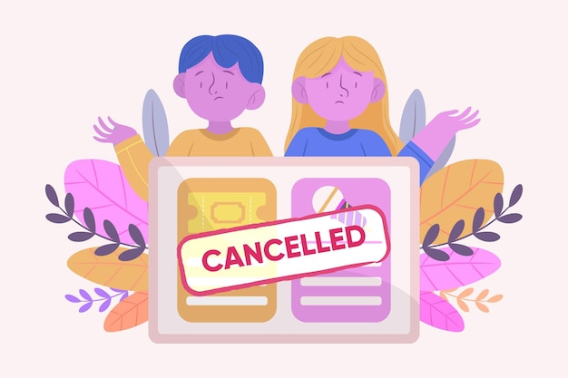 취소 된 이벤트 발표