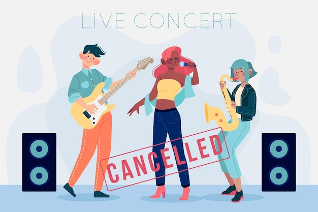 Cancelled music events