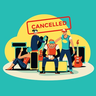 Cancelled musical events
