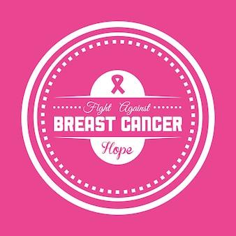 Cancer design illustration