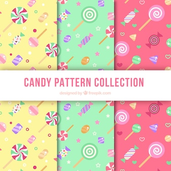 Candies pattern set