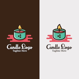 Candle candles logo design