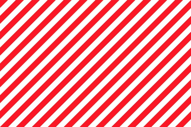 Candy cane stripe pattern. seamless christmas background. vector illustration.