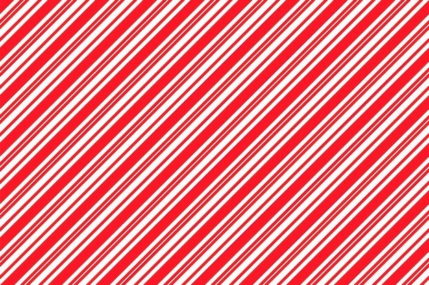 Candy cane stripe seamless pattern. christmas background. vector illustration.