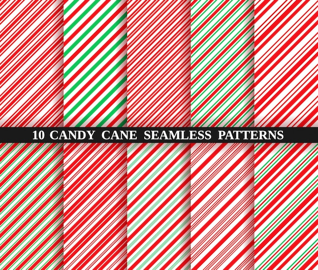 candy cane stripe seamless pattern christmas texture 153629 651