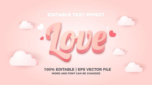 Конфеты редактируемый текстовый эффект