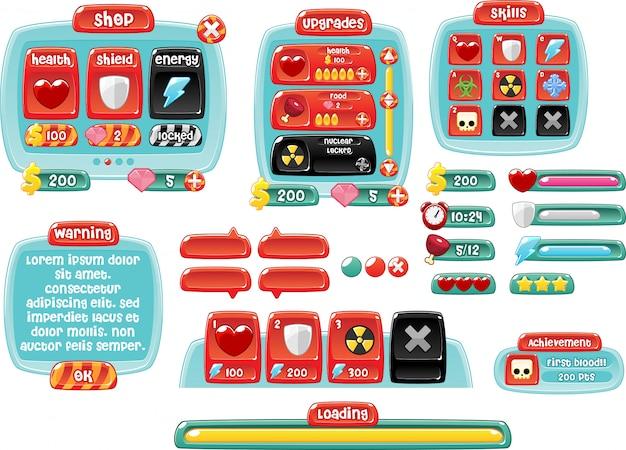 Графический интерфейс candy land game