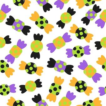 Candy pattern background