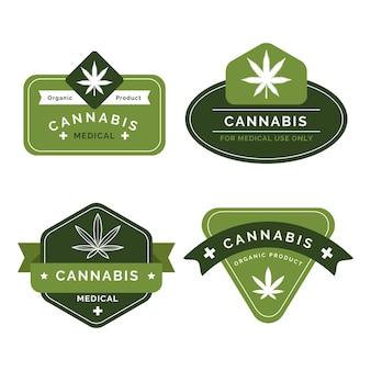 Distintivi per l'uso della cannabis per la salute