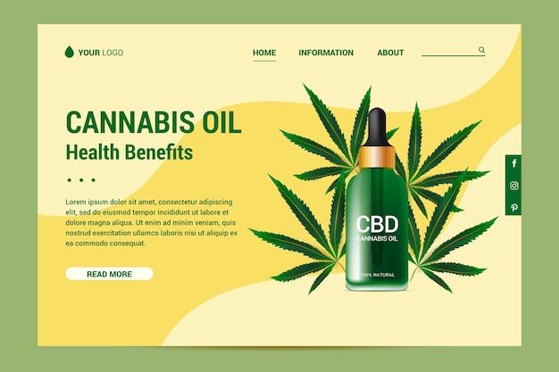 大麻油-ランディングページ