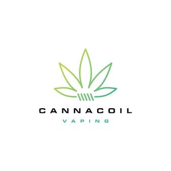 Cannacoil大麻コイルのロゴ