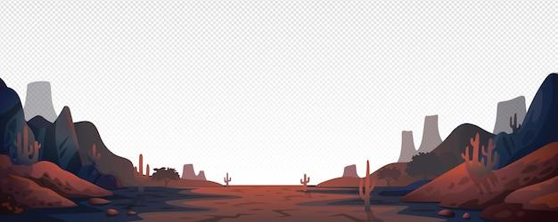 Canyon landscape background