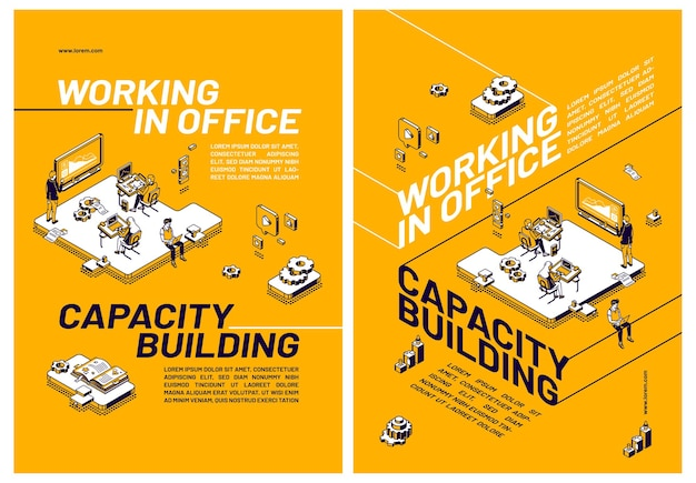 Capacity building by working in office