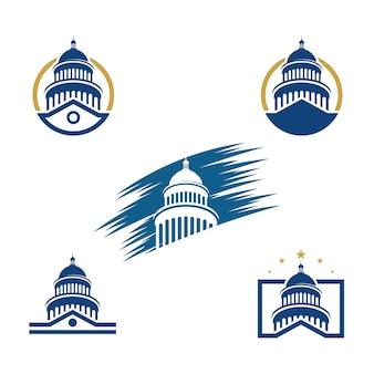 Capitol icon set