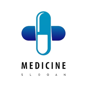 Капсула, логотип медицины