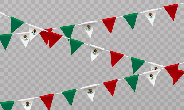 Caption mexican independence day september 16 vector illustration