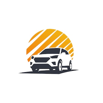 Car adventure logo