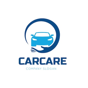 Car care and car services logo template.