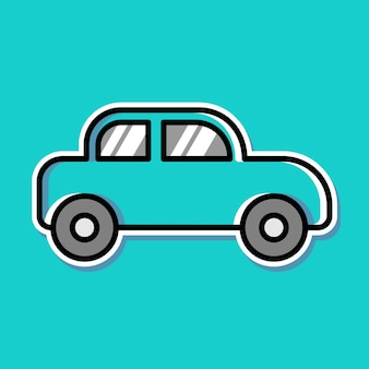 자동차 만화 디자인