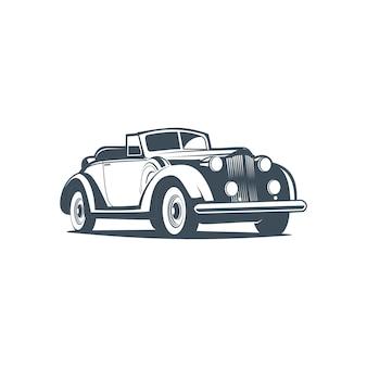 Car classic silhouette