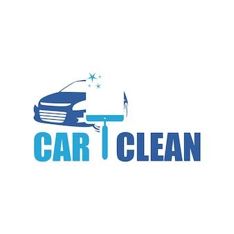 Car clean logo