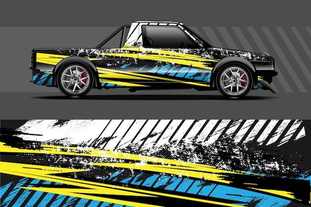 Автомобиль наклейка иллюстрация