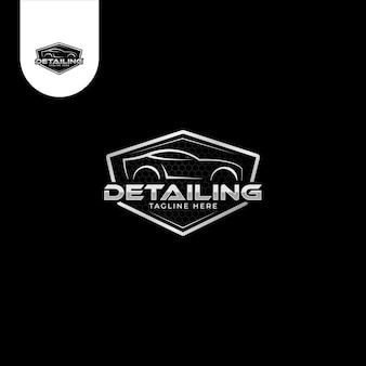 Логотип car detailing