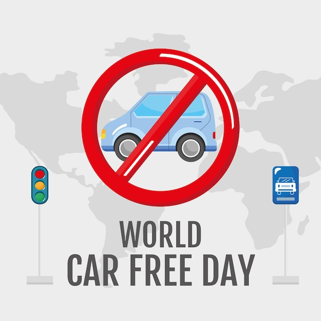 Car free day campaign