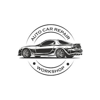 Автомобиль гараж эмблема логотип