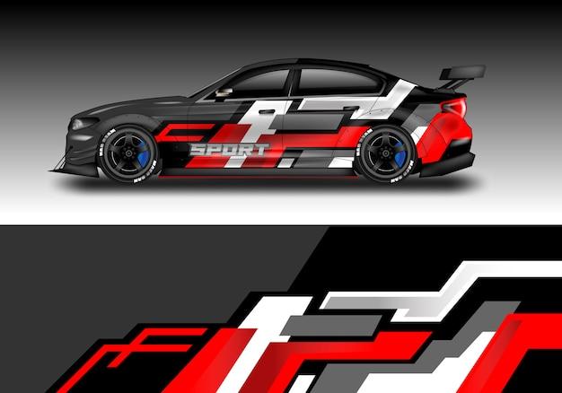 Car geometric wrap