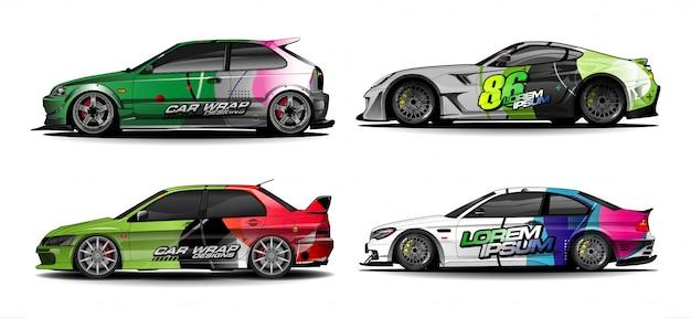 Набор car graphics для виниловой и наклейочной обертки