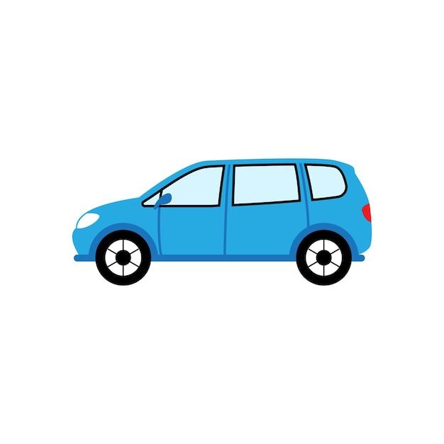 車のアイコンイラストデザインテンプレート