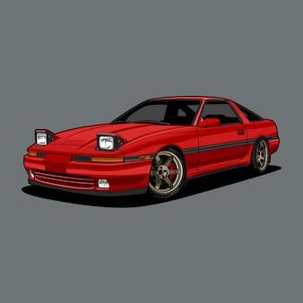개념 설계를위한 자동차 그림