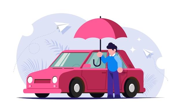 自然災害に対する自動車保険