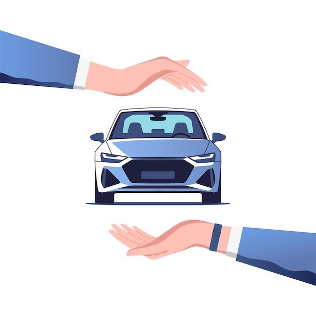 自動車保険の概念図