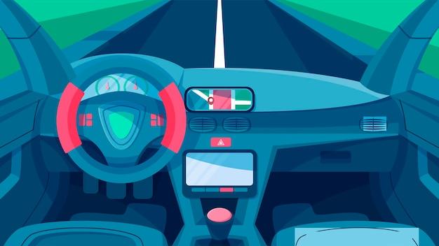 Car interior  - interior scenes
