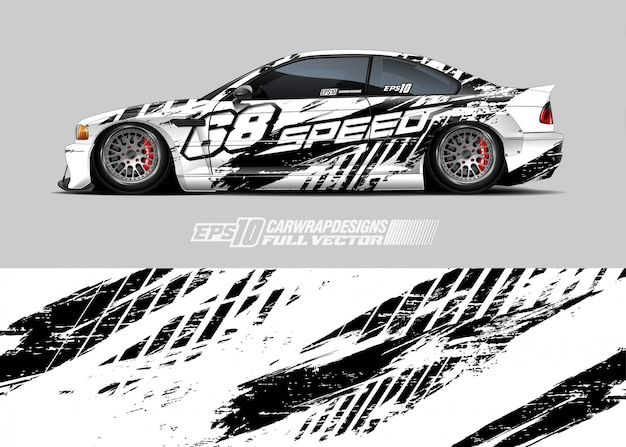 Car livery illustration