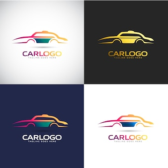 Car logo template for your company brand