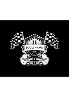 カーレース選手権ロゴ