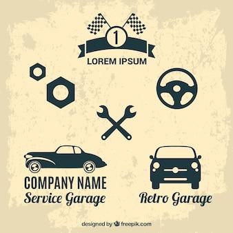 Car races labels