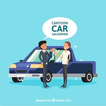 Car salesman design